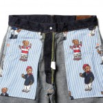 "5Pocket Denim Pants ""Bear"" from M.V.P. @A-1 CLOTHING"