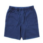 Champion Indigo Sweat Shorts from nanamica @OMNIGOD Daikanyama