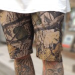 RIPSTOP LEAF CAMO SHORTS from F.O.B Factory @Freeport