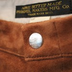 SUEDE SHORTS from PHIGVEL MAKERS & Co. @PROD