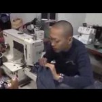 Jeans Repair by Japanese Craftsman