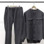 WOOL TRACK PANTS from PHIGVEL MAKERS & Co. @PROD