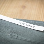 Chino Tapered Trousers of SCYE
