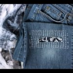 How To Repair Your Jeans With Sashiko Stitching
