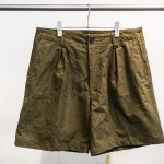 KUON's 1950's Czechoslovakian Olive Tent Shorts