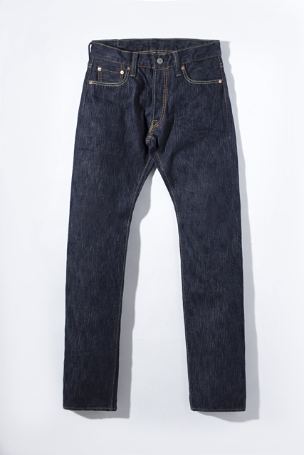 [AI-003] 17.5oz. Natural Indigo Slim Tapered
