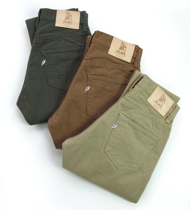 pure blue jeans(ピュアブルージャパン) Selvedge Chino 5-pocket Pants