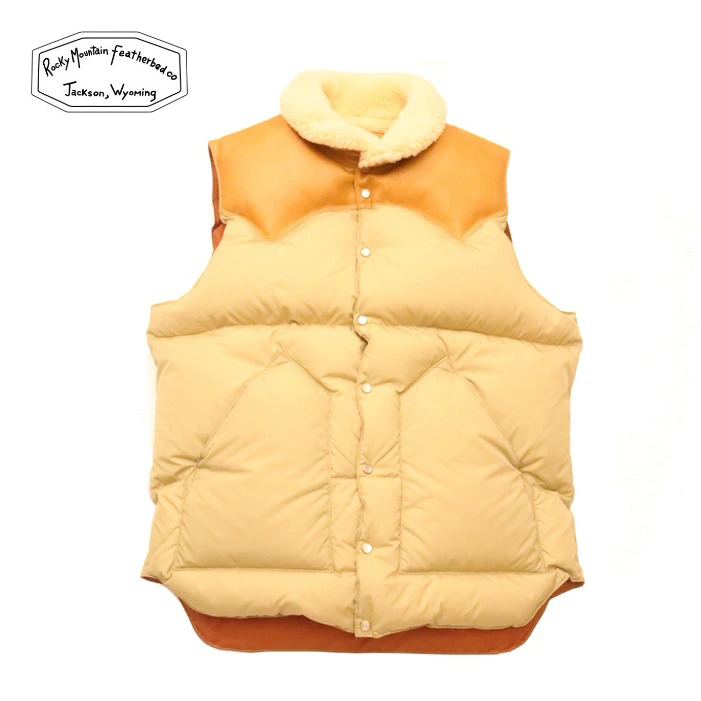 Rocky Mountain Featherbed(ロッキーマウンテンフェザーベッド)CHRISTY VEST(クリスティーベスト)| A'r139 Kamakura